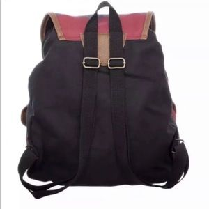 """Harry Potter Alumni Knapsack Backpack 14x18"""" Hogwarts School Bag Drawstring Best"""